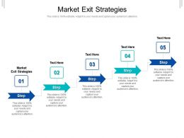 Market Exit Strategies Ppt Powerpoint Presentation File Designs Download Cpb