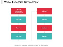 Market Expansion Development Ppt Powerpoint Presentation Visual Aids Summary Cpb