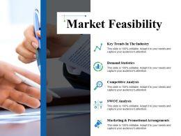 Market Feasibility Ppt Icon