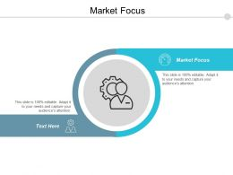 Market Focus Ppt Powerpoint Presentation Pictures Template Cpb