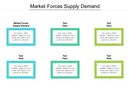 Market Forces Supply Demand Ppt Powerpoint Presentation Introduction Cpb