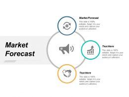 Market Forecast Ppt Powerpoint Presentation Portfolio Objects Cpb