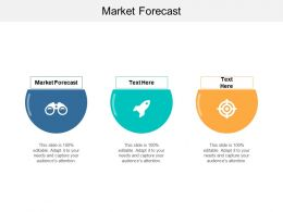 Market Forecast Ppt Powerpoint Presentation Show Graphics Pictures Cpb