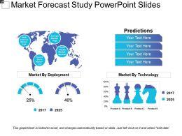 Market Forecast Study Powerpoint Slides