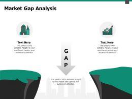 Market Gap Analysis Dollar Ppt Powerpoint Presentation Pictures Design Ideas
