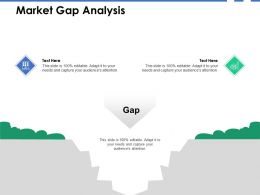 Market Gap Analysis Growth B265 Ppt Powerpoint Presentation Icon Slides