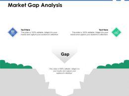 Market Gap Analysis Growth B265 Ppt Powerpoint Presentation Icon Slides