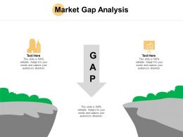 Market Gap Analysis Growth Ppt Powerpoint Presentation Ideas Designs