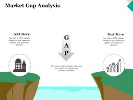 Market Gap Analysis Ppt Inspiration Graphics Template