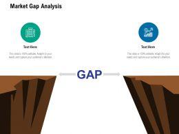 Market Gap Analysis Ppt Powerpoint Presentation Inspiration Demonstration