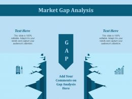 Market Gap Analysis Ppt Slides Visual Aids