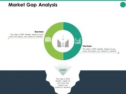 Market Gap Analysis Structure Ppt Powerpoint Presentation Pictures Format Ideas