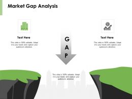 Market Gap Analysis Threat Ppt Powerpoint Presentation Pictures Smartart
