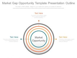 Market Gap Opportunity Template Presentation Outline