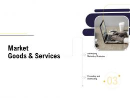 Market Goods And Services Business Process Analysis Ppt Brochure