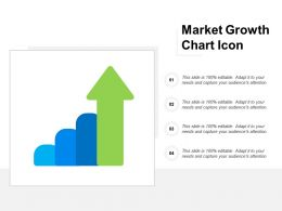 Market Growth Chart Icon