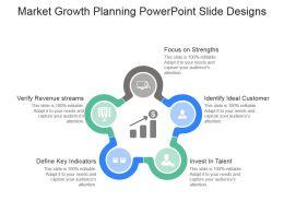 Market Growth Planning Powerpoint Slide Designs