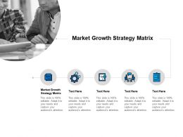 Market Growth Strategy Matrix Ppt Powerpoint Presentation Styles Cpb