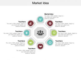 Market Idea Ppt Powerpoint Presentation Ideas Graphics Download Cpb