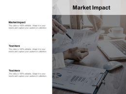 Market Impact Ppt Powerpoint Presentation Styles Graphics Tutorials Cpb