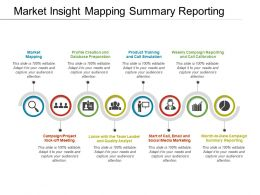 Market Insight Mapping Summary Reporting
