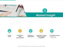 Market Insight Strategic Plan Marketing Business Development Ppt Icon Sample