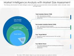 Market Intelligence Analysis With Market Size Assessment