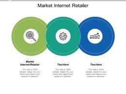 Market Internet Retailer Ppt Powerpoint Presentation Portfolio Slides Cpb