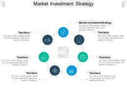 Market Investment Strategy Ppt Powerpoint Presentation Layouts Icon Cpb