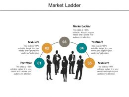 Market Ladder Ppt Powerpoint Presentation File Guidelines Cpb