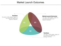 Market Launch Outcomes Ppt Powerpoint Presentation Gallery Objects Cpb