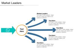 Market Leaders Ppt Powerpoint Presentation Icon Inspiration Cpb