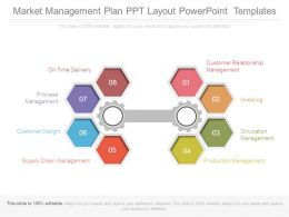 Market Management Plan Ppt Layout Powerpoint Templates