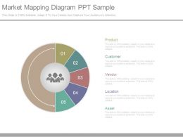 Market Mapping Diagram Ppt Sample