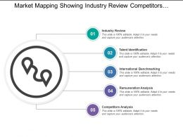 Market Mapping Showing Industry Review Competitors Analysis