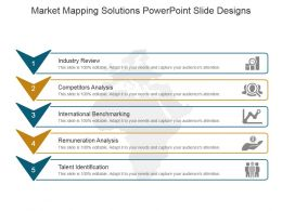 Market Mapping Solutions Powerpoint Slide Designs
