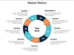 Market Metrics Ppt Powerpoint Presentation Slides Skills Cpb