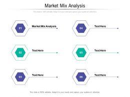 Market Mix Analysis Ppt Powerpoint Presentation Summary Deck Cpb