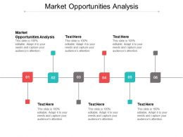 Market Opportunities Analysis Ppt Powerpoint Presentation File Demonstration Cpb