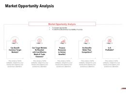 Market Opportunity Analysis Benefit Ppt Powerpoint Presentation Show Pictures