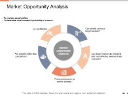 Market Opportunity Analysis Determine Attractiveness Ppt Powerpoint Presentation Pictures
