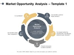 Market Opportunity Analysis Dollar Ppt Powerpoint Presentation Portfolio Examples