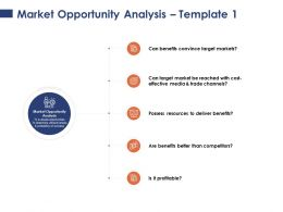 Market Opportunity Analysis Possess Resources Ppt Powerpoint Presentation Model Graphics Example