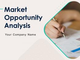 Market Opportunity Analysis Powerpoint Presentation Slides