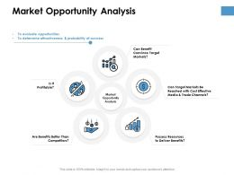 Market Opportunity Analysis Ppt Powerpoint Presentation Ideas Icon