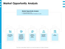 Market Opportunity Analysis Ppt Powerpoint Presentation Layouts Professional