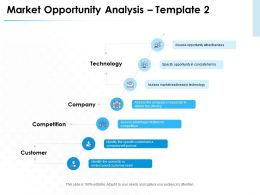 Market Opportunity Analysis Template Technology Ppt Powerpoint Presentation Rules