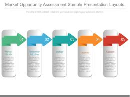 Market Opportunity Assessment Sample Presentation Layouts