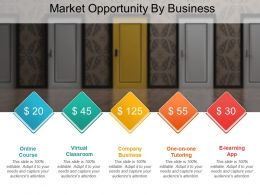 market opportunity by business