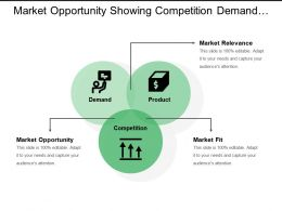 Market Opportunity Showing Competition Demand And Product